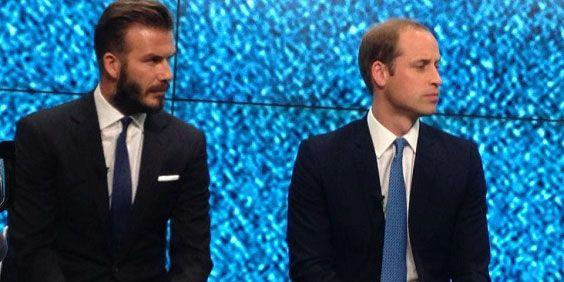 William e Beckham juntos para a proteção dos animais