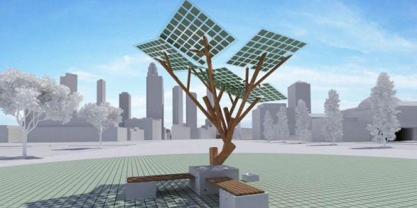 eTree: a árvore que produz a energia solar