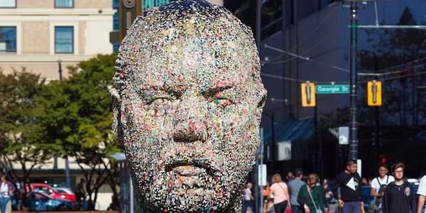 Gumhead: uma cabeça gigante