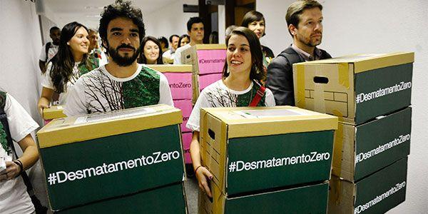 Greenpeace contra o desmatamento