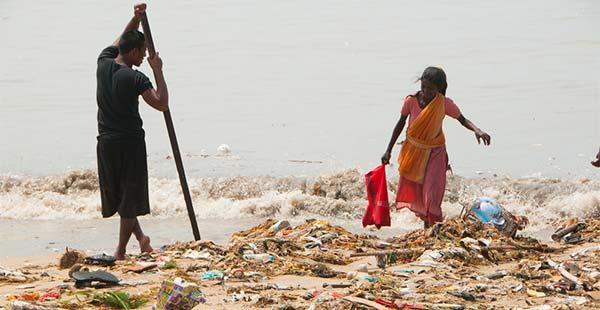 plástico Índia