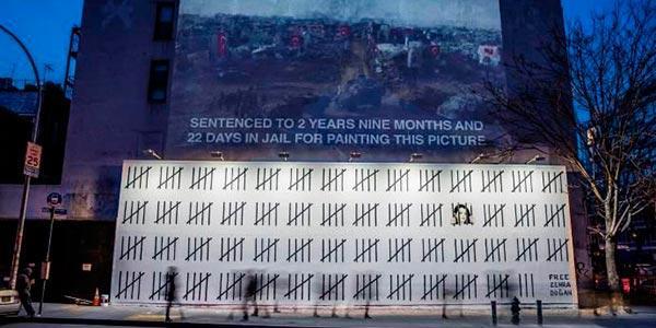 Novo mural de Banksy
