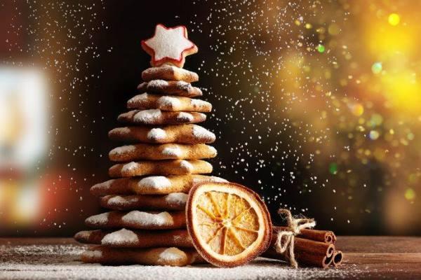 árvores de Natal comestíveis